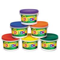 Crayola 570016 3 lb. Assorted Color Modeling Dough Bucket - 6/Set