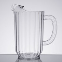 48 oz. Clear Plastic Beverage Pitcher