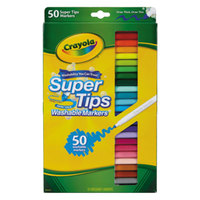 Crayola 585050 Super Tips 50 Assorted Washable Markers