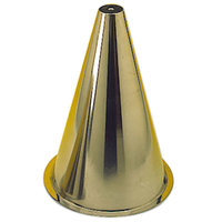 Matfer Bourgeat 340467 13 3/4 inch Stainless Steel Croquembouche Pastry Cone Mold