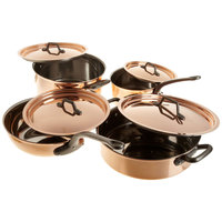 Matfer Bourgeat 915901 8-Piece Copper Cookware Set