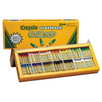Crayola 524629 Classpack 336 Assorted Color Jumbo Size Oil Pastels