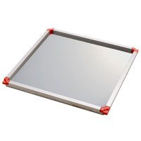 Matfer Bourgeat 370108 23 3/4 inch x 15 3/4 inch Red Mousse Frame - 5/8 inch