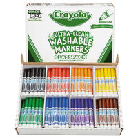 Crayola 588200 Classpack Ultra-Clean 200 Assorted Broad Point Washable Markers