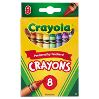 Crayola 523008 Classic 8-Count Assorted Crayons