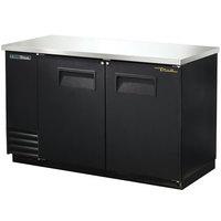 True TBB-2-HC 59 inch Solid Door Back Bar Refrigerator