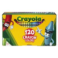Crayola 526920 Classic Assorted 120 Color Crayon Box