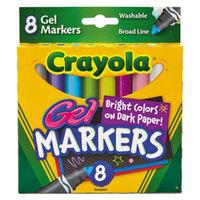 Crayola 588163 Gel FX Classpack Assorted 8 Color Washable Marker Set