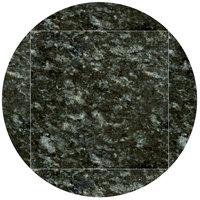 Art Marble Furniture G203 51 inch Round / 36 inch x 36 inch Uba Tuba Drop Leaf Granite Tabletop
