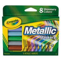 Crayola 588628 Assorted 8 Color Metallic Markers