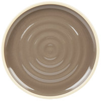 Chef & Sommelier FK945 Geode 6 inch Gray Stackable Bread and Butter / Side Plate by Arc Cardinal - 12/Case