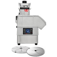 Sammic CA-3V 2 hp Continuous Feed Food Processor Kit with 1/8 inch Slicing and 1/8 inch Shredding Discs