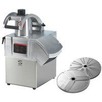 Sammic CA-301 1 1/2 hp Continuous Feed Food Processor Kit with 1/8 inch Slicing and 1/8 inch Shredding Discs