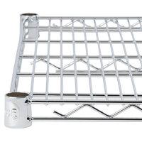 Regency 21 inch x 36 inch NSF Chrome Wire Shelf