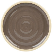 Chef & Sommelier FK988 Geode 4 inch Gray Stackable Plate by Arc Cardinal - 24/Case
