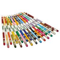 Crayola 682424 24 Assorted Erasable 3.3mm Colored Pencils