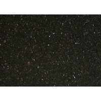 Art Marble Furniture G206 30 inch x 42 inch Black Galaxy Granite Tabletop