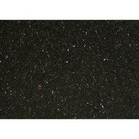 Art Marble Furniture G206 30 inch x 42 inch Black Galaxy Granite Tabletop