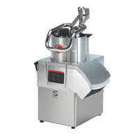 Sammic CA411VV 3 hp Continuous Feed Food Processor Kit with 1/8 inch Slicing and 1/8 inch Shredding Discs
