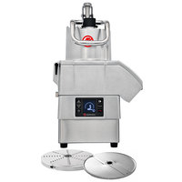 Sammic CA-4V 3 hp Continuous Feed Food Processor Kit with 1/8 inch Slicing and 1/8 inch Shredding Discs