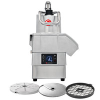 Sammic CA-4V 3 hp Continuous Feed Food Processor Kit with 3/8 inch Slicing, 3/8 inch Dicing, and 1/8 inch Shredding Discs