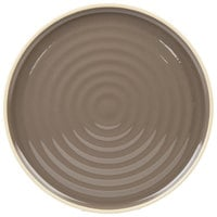 Chef & Sommelier FK943 Geode 10 3/4 inch Gray Stackable Dinner Plate by Arc Cardinal - 12/Case