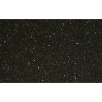 Art Marble Furniture G206 30 inch x 48 inch Black Galaxy Granite Tabletop