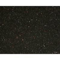 Art Marble Furniture G206 24 inch x 30 inch Black Galaxy Granite Tabletop