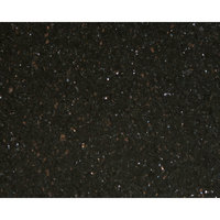 Art Marble Furniture G206 24 inch x 30 inch Black Galaxy Granite Tabletop