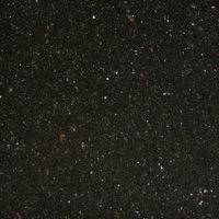 Art Marble Furniture G206 30 inch x 30 inch Black Galaxy Granite Tabletop