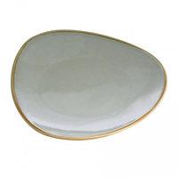Arcoroc FJ048 Terrastone 11 inch Sage Porcelain Plate by Arc Cardinal - 12/Case