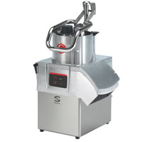 Sammic CA411 1 1/2 hp Continuous Feed Food Processor Kit with 1/8 inch Slicing and 1/8 inch Shredding Discs