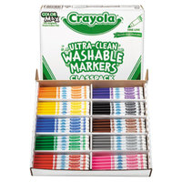 Crayola 588211 Classpack Ultra-Clean 200 Assorted Fine Point Washable Markers