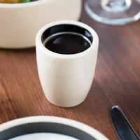 Chef & Sommelier FK890 Geode 4 oz. Black Espresso / Sauce Cup by Arc Cardinal - 24/Case