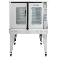 Garland MCO-GD-10 Natural Gas Single Deck Deep Depth Full Size Convection Oven with Digital Controls - 60,000 BTU