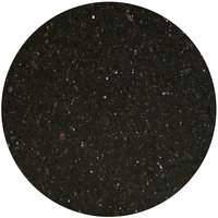 Art Marble Furniture G206 24 inch Round Black Galaxy Granite Tabletop