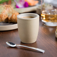 Chef & Sommelier FK790 Geode 4 oz. White Stoneware Espresso / Sauce Cup by Arc Cardinal - 24/Case