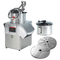 Sammic CK-402 3 hp Combination Food Processor Kit with 8.5 Qt. Bowl, 1/8 inch Slicing, and 1/8 inch Shredding Discs