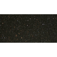 Art Marble Furniture G206 30 inch x 60 inch Black Galaxy Granite Tabletop