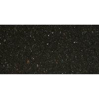 Art Marble Furniture G206 30 inch x 60 inch Black Galaxy Granite Tabletop