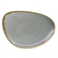 Arcoroc FJ050 Terrastone 6 1/2 inch Sage Porcelain Plate by Arc Cardinal - 36/Case