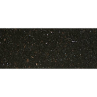 Art Marble Furniture G206 30 inch x 72 inch Black Galaxy Granite Tabletop