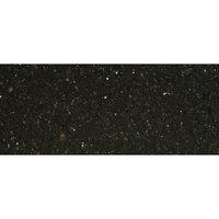 Art Marble Furniture G206 30 inch x 72 inch Black Galaxy Granite Tabletop