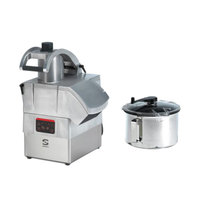 Sammic CK312 3 hp Combination Food Processor Kit with 8.5 Qt. Bowl, 1/8 inch Slicing, and 1/8 inch Shredding Discs
