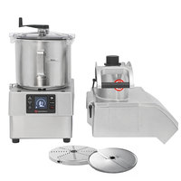Sammic CK38V 3 hp Combination Food Processor Kit with 8.5 Qt. Bowl, 1/8 inch Slicing, and 1/8 inch Shredding Discs