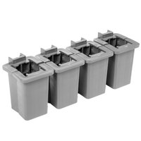Cambro CBPCW8580 Camshelving® Basics Plus Connector Collar Wedge - 8/Pack