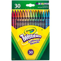 Crayola 687409 Twistables 30 Assorted 2mm Colored Pencils