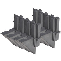 Cambro EMTD8580 Camshelving® Elements Mobile Dovetail - 8/Pack