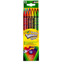 Crayola 687508 Twistables 12 Assorted Erasable 2mm Colored Pencils