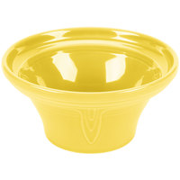 Homer Laughlin 431320 Fiesta Sunflower 1.25 Qt. Hostess Serving Bowl - 4/Case